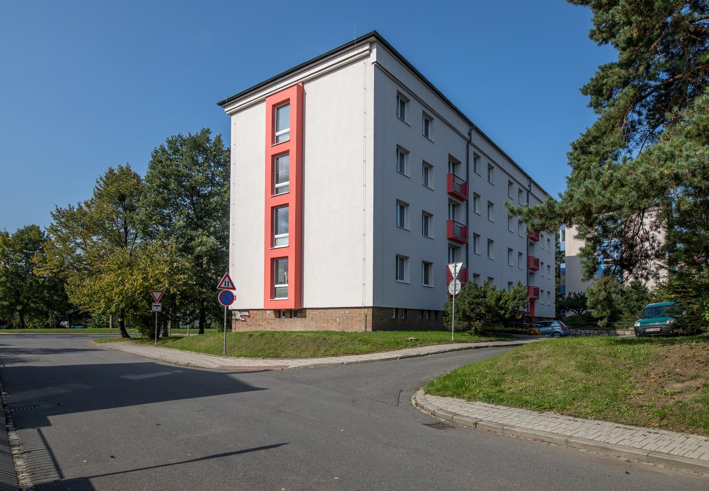 Revitalizace bytového domu Hradecká 622/47 a 823/49 v Opavě