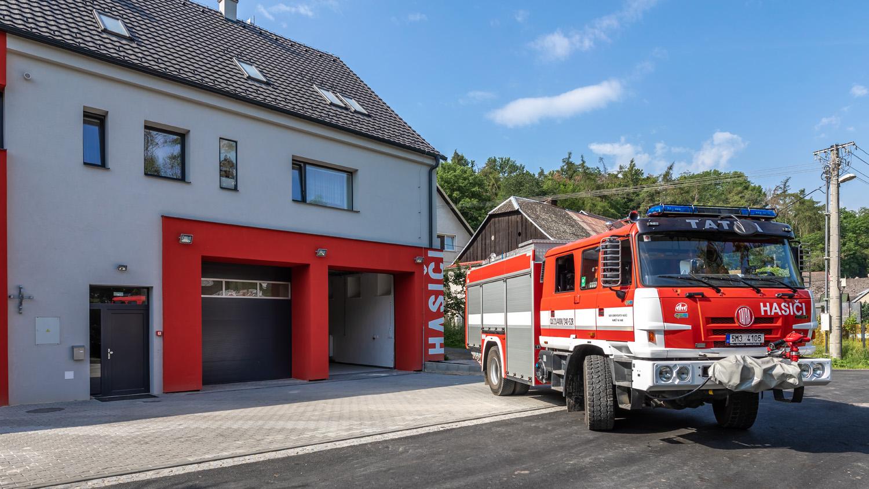 Rekonstrukce hasičské zbrojnice