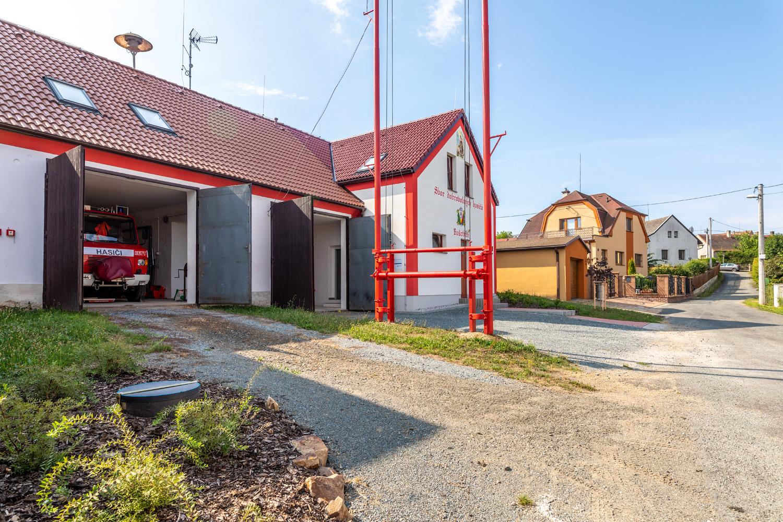 Přístavba požární zbrojnice v obci Bušovice