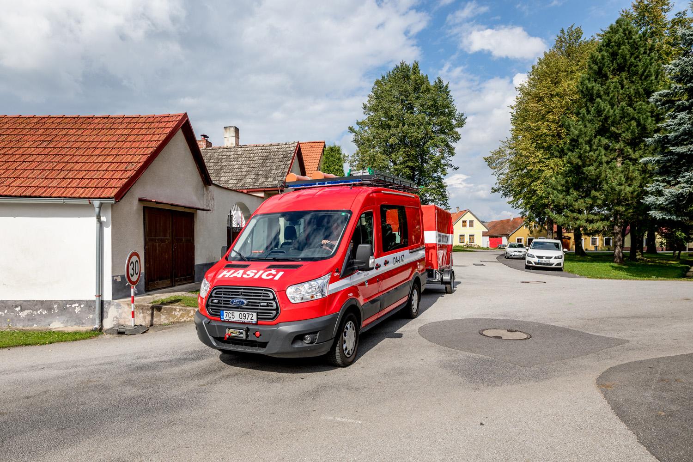Pořízení DA s požárním přívěsem pro JSDHO Holubov