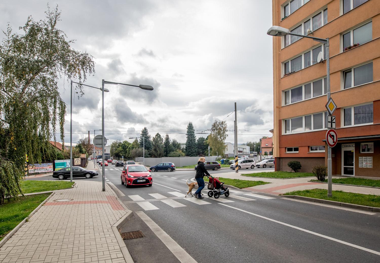 Rekonstrukce komunikace ulice J.Koziny v Teplicích včetně veřejného osvětlení - II.etapa