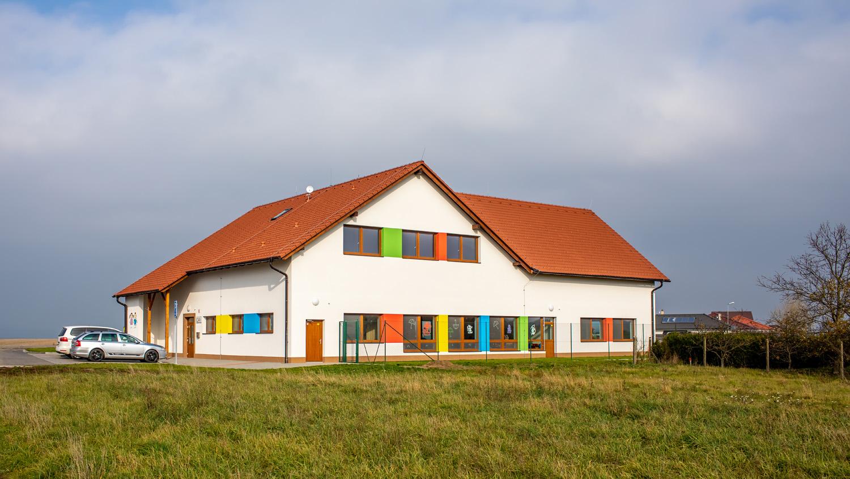 Novostavba mateřské školy v obci Kožichovice