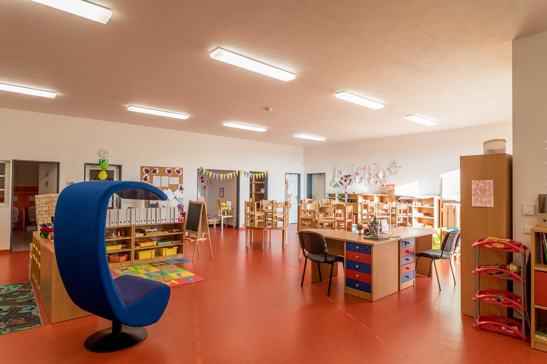 Přístavba mateřské školy v MČ Brno-Jehnice