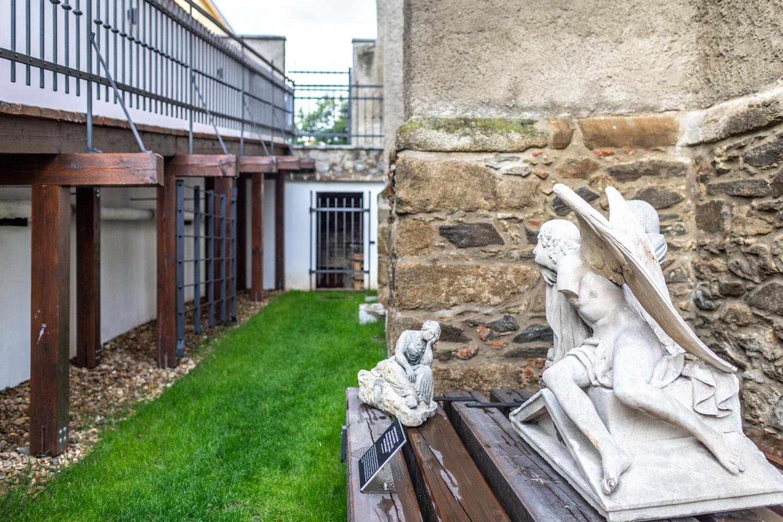 Revitalizace zadního traktu minoritského kláštera Znojmo s expozicí lapidária
