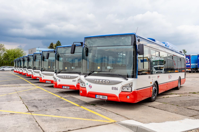 Nákup plně nízkopodlažních CNG autobusů - ČSAD Střední Čechy, a.s.